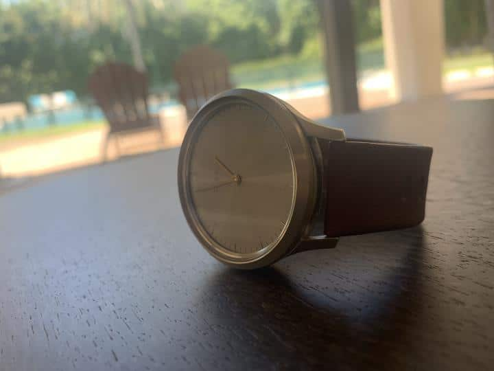 Garmin vivomove HR Rose Gold Hybrid watch