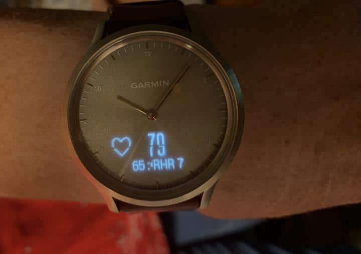 Vivomove hybrid watch -design
