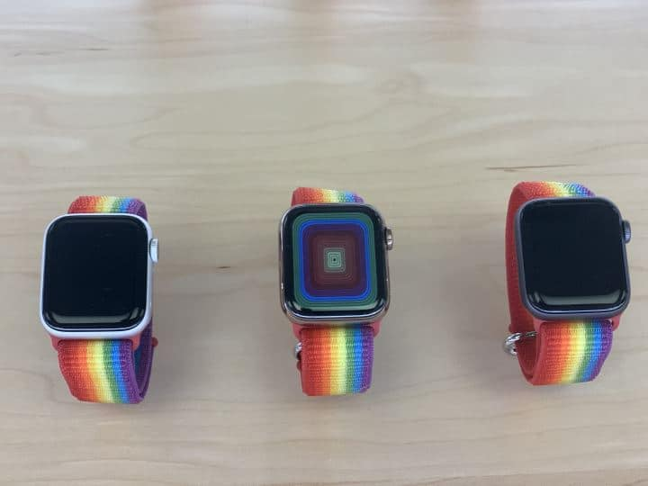 Apple watch bands - multicolor