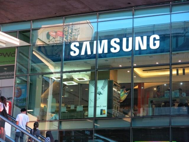 Samsung shop front