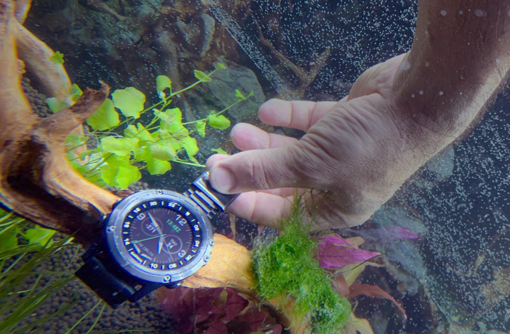 testing swimming watches