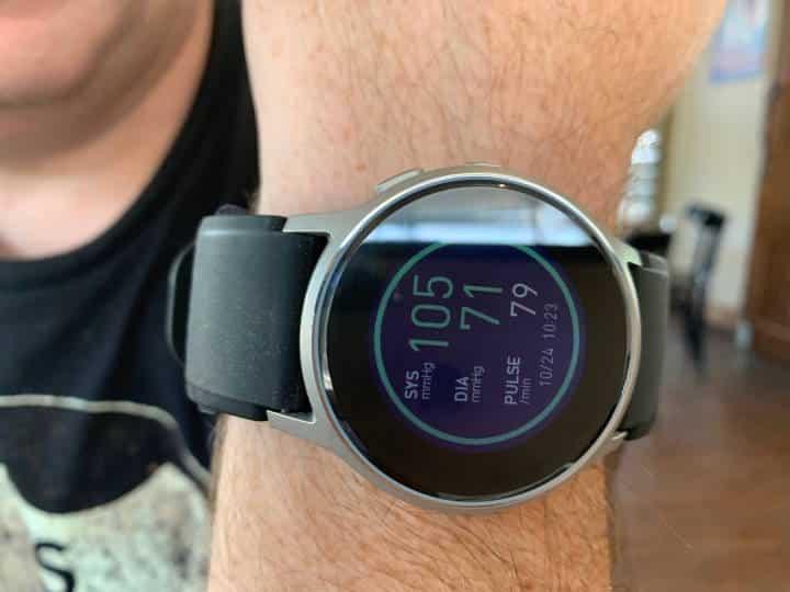 Omron Blood Pressure Monitor Smartwarch