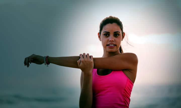 Suunto 7- exercising and stretching