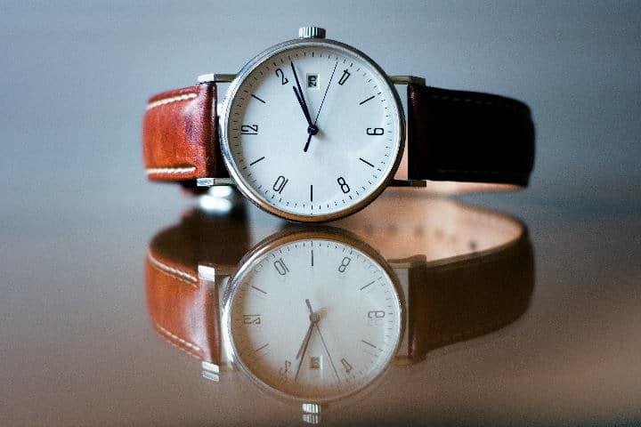 Classic Mondaine watch