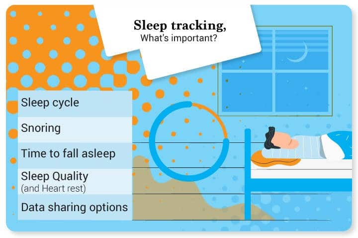Sleep tracking - what's important