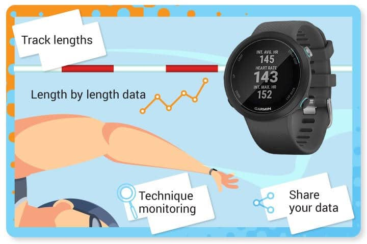 Advantages and benefits of swimming watches