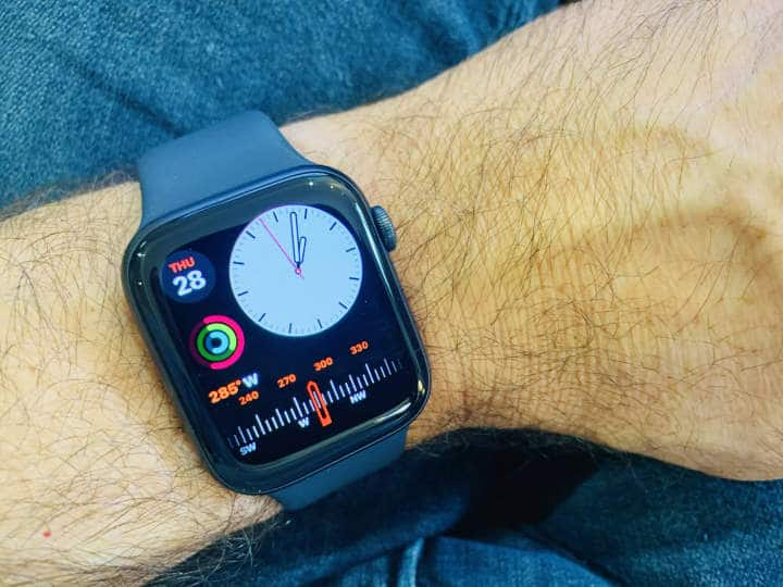Modular Compact watch face for Apple watch