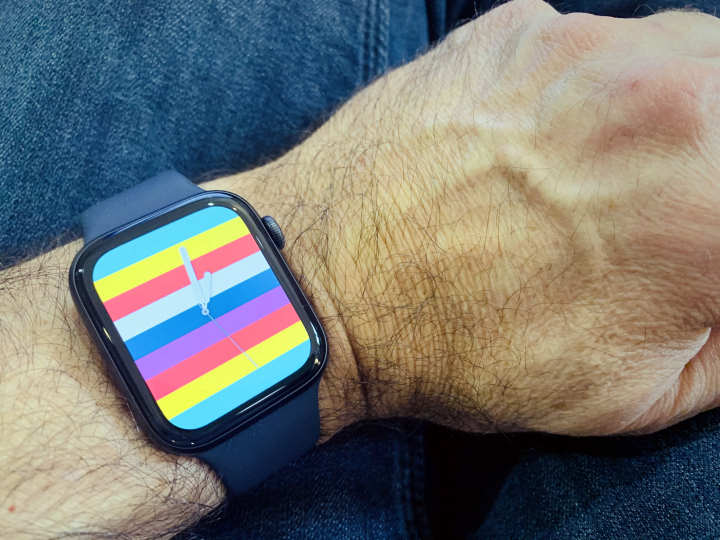 Stripes Apple Watch Face