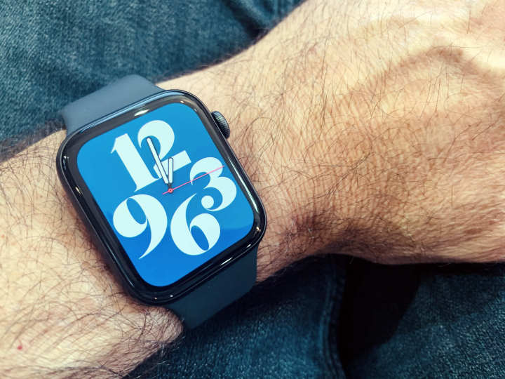 Typograph iwatch face
