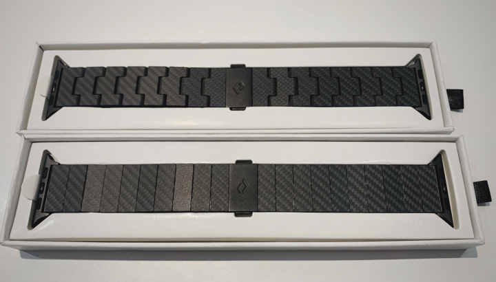 Pitaka Carbon Fiber Apple Watch Bands in Modern and Retro Style