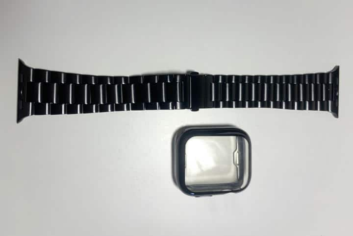 Iiteeology Stainless Steel Link Bracelet and Case