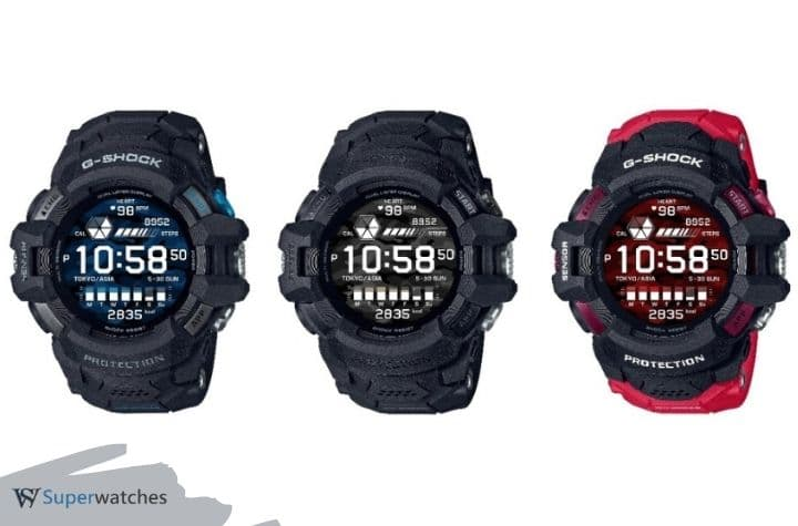 GSW-H1000 Casio to release first G-SHOCK Watch with Google Wear OS