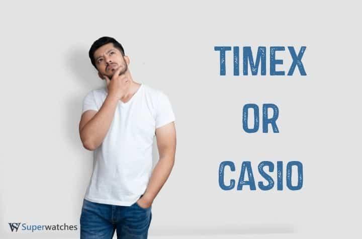 Timex vs Casio