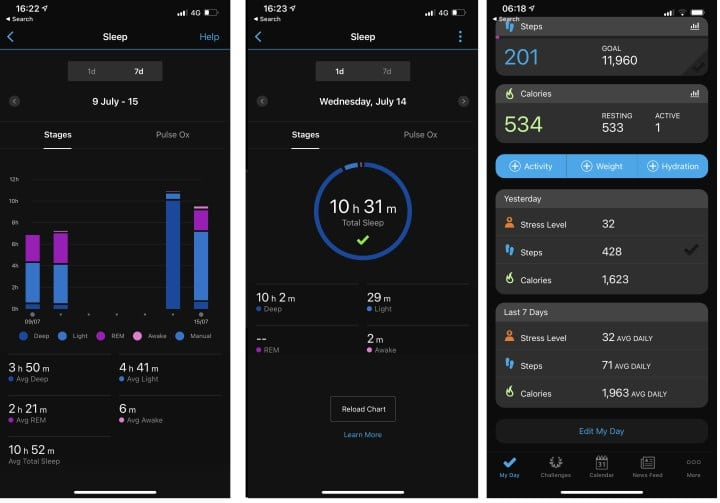 Using connect to track your sleep