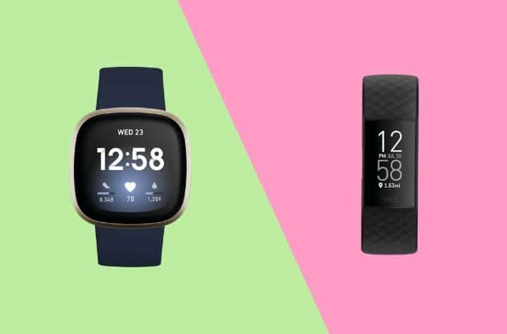 Fitbit Charge 4 vs Versa 3