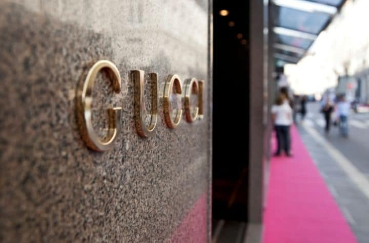 Gucci watches store front