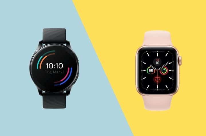 OnePlus Watch vs Apple Watch