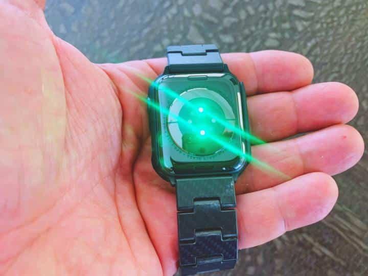 Apple Watch Green Light