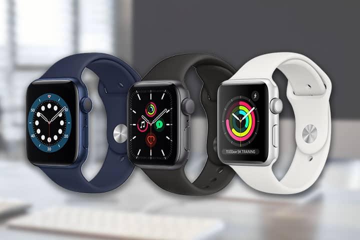 Apple Watch 6 ,Apple watch SE, Apple Watch 3