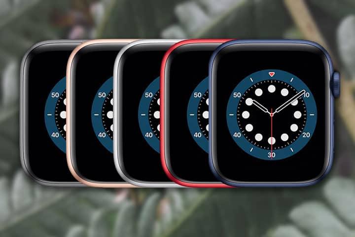 Apple Watch 6 colors