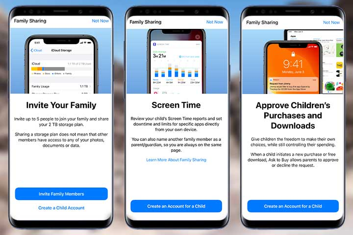 Apple watch Family Setup features