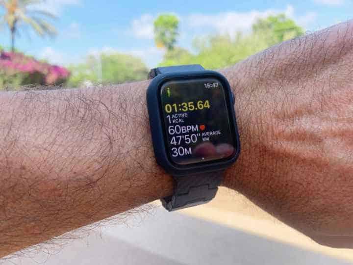 Apple watch outdoor walk goal