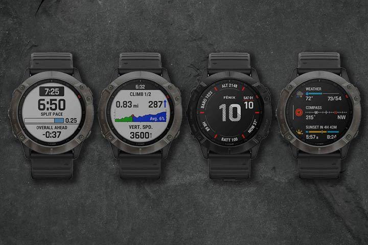 Wide range of tracking options for Garmin Fenix 6 Series