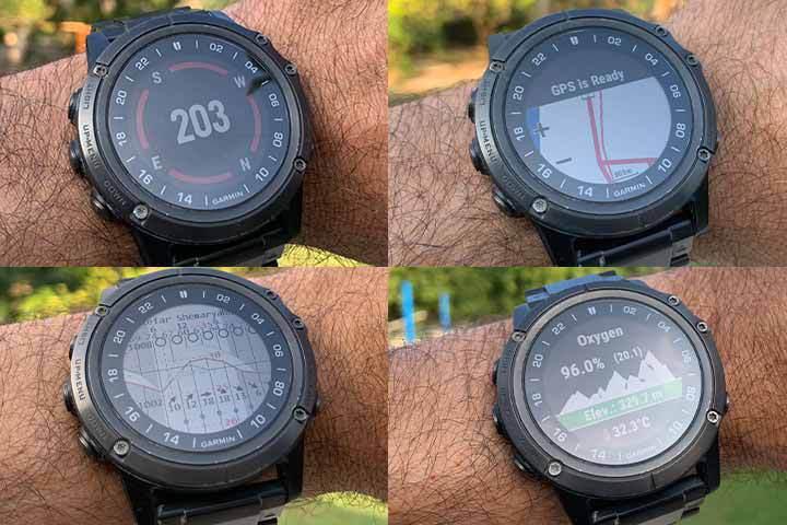 different GPS features from Garmin Fenix 6X Pro Solar
