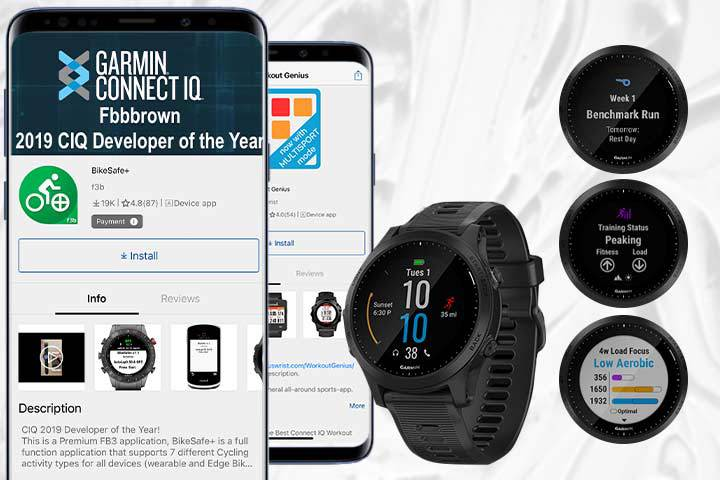 sports and activity tracking from Garmin Forerunner 945