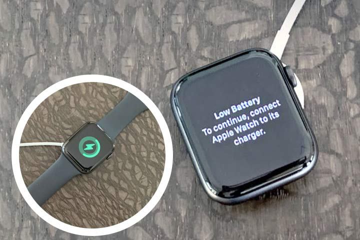 Apple watch 6 low battery and charging