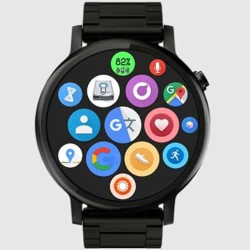 Bubble Cloud Wear Watch Face