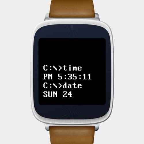 DosFace Watch Face