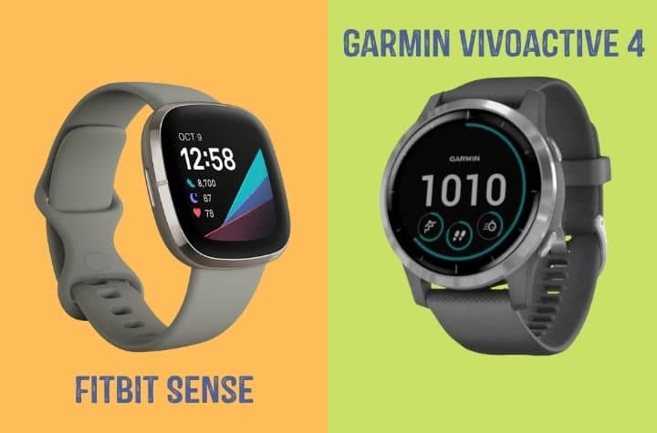 Fitbit Sense or Garmin Vivoactive 4 - Which is Best for You?