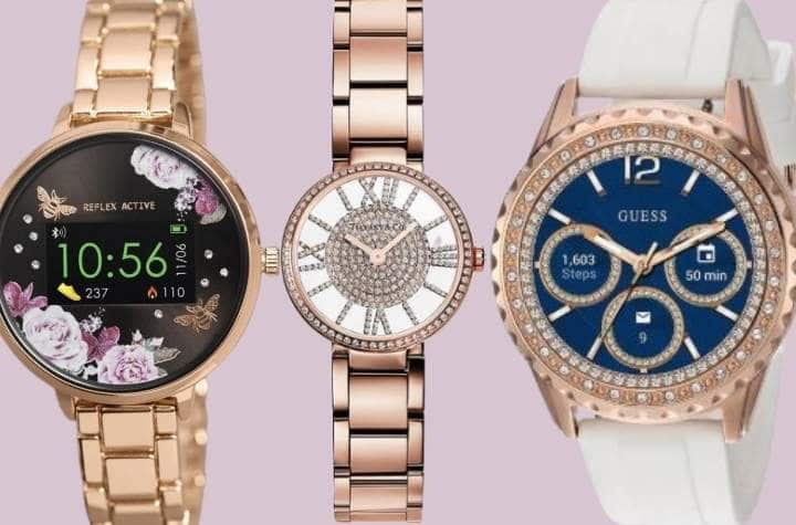 Selection of jewelry-based smartwatches