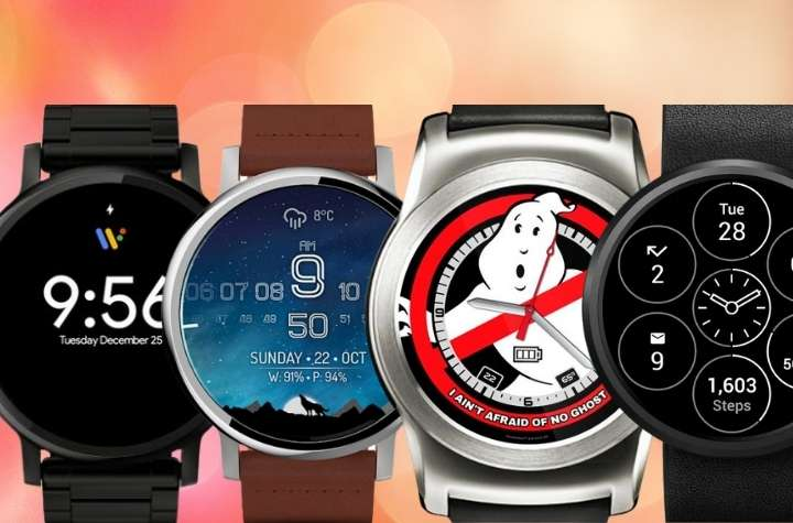Selection of the best wear os watch faces