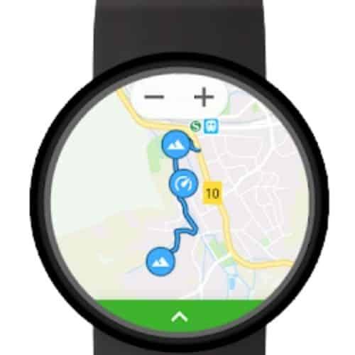 Wear GPS Watch Face