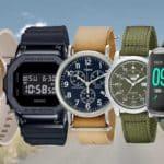 Garmin Lily, G-Shock GM5600B-1, Timex Weekender Chronograph, SEIKO Men's SNK805, Willful Smartwatch