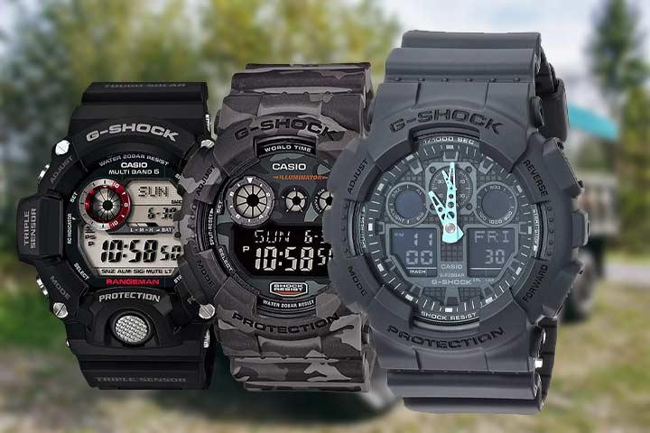 Rangeman GW-9400, WR Shock Resistant Military Watch, Classic Analog-Digital Military Watch
