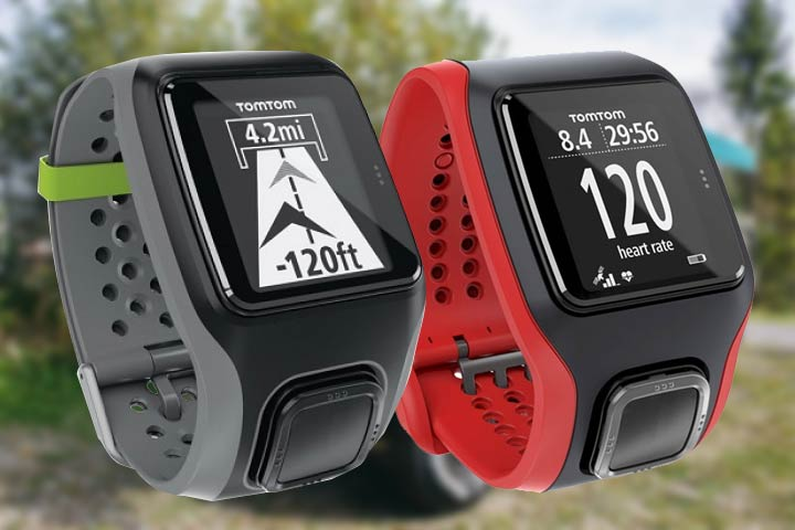 TomTom GPS Multisport black and red