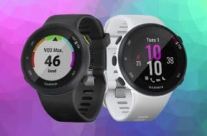 What is the difference between the Garmin Forerunner 45 vs 45s
