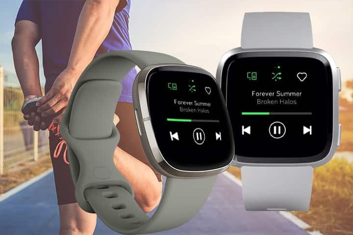 Fitbit Sense music