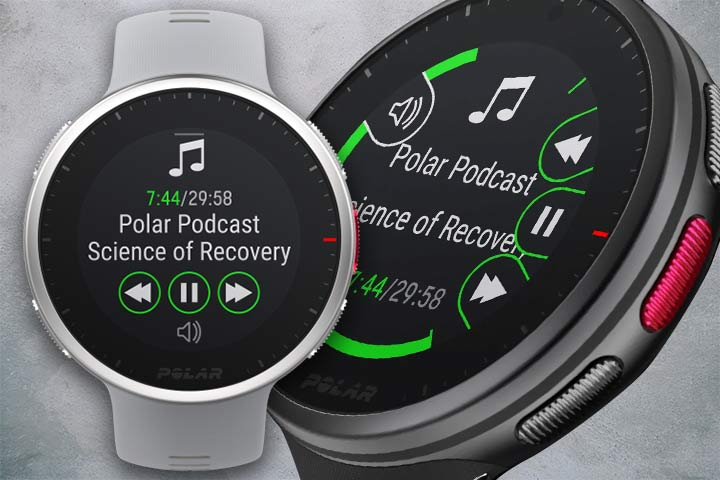 Polar Vantage V2 with music for  running