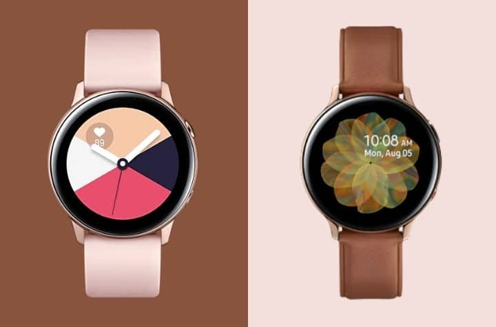 Which is best, the Samsung Galaxy Watch Active or Galaxy Watch Active 2?