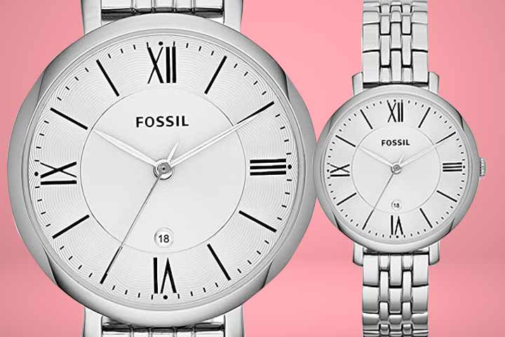 Fossil Jacqueline Stainless Steel
