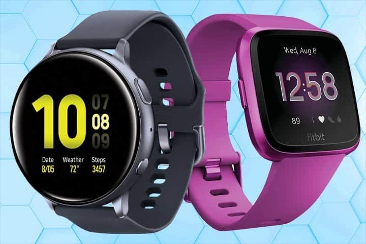 Smart: Samsung Galaxy Smartwatch, Fitness: Fitbit Versa Lite Edition