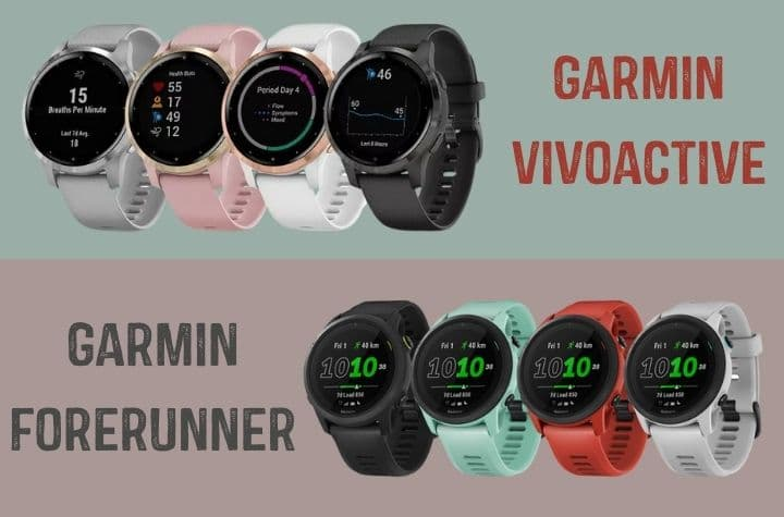 Which is better, the Garmin Vivoactive vs Forerunner
