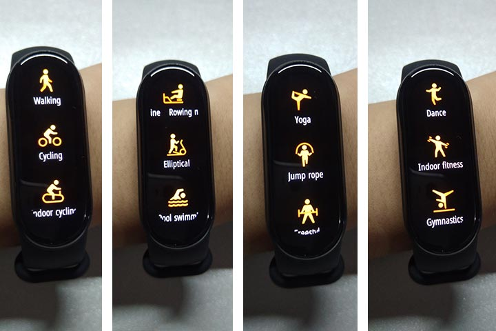 Mi Band 6 fitness tracker