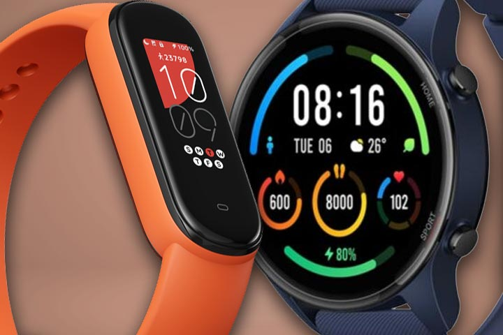 Amazfit Band 5 Smart Bracelet, Xiaomi Mi Watch Color (Sports Edition)