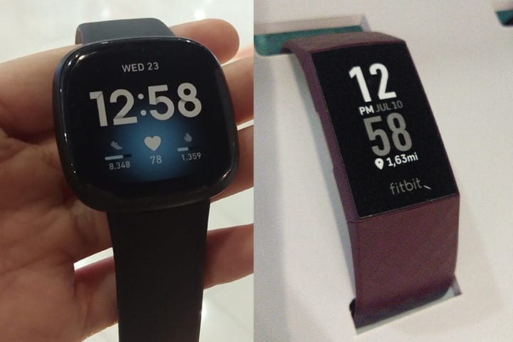 fitbit versa 3 and fitbit charge 4