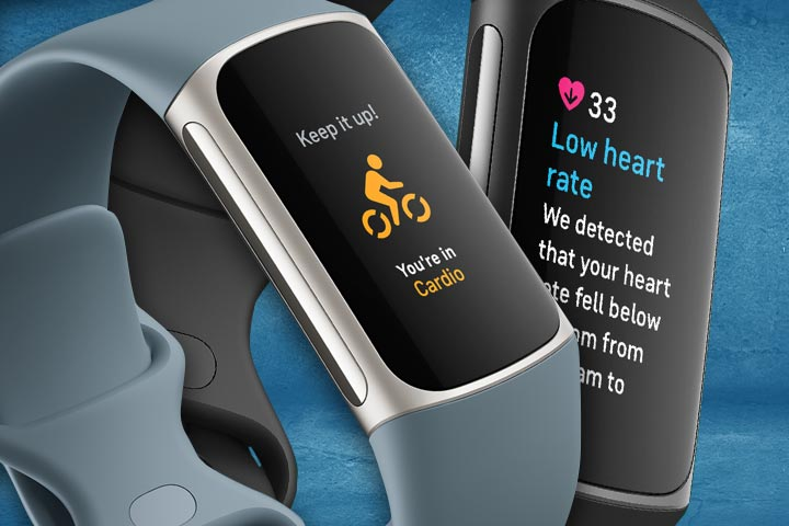 Fitbit Charge 5 workout and heart rate